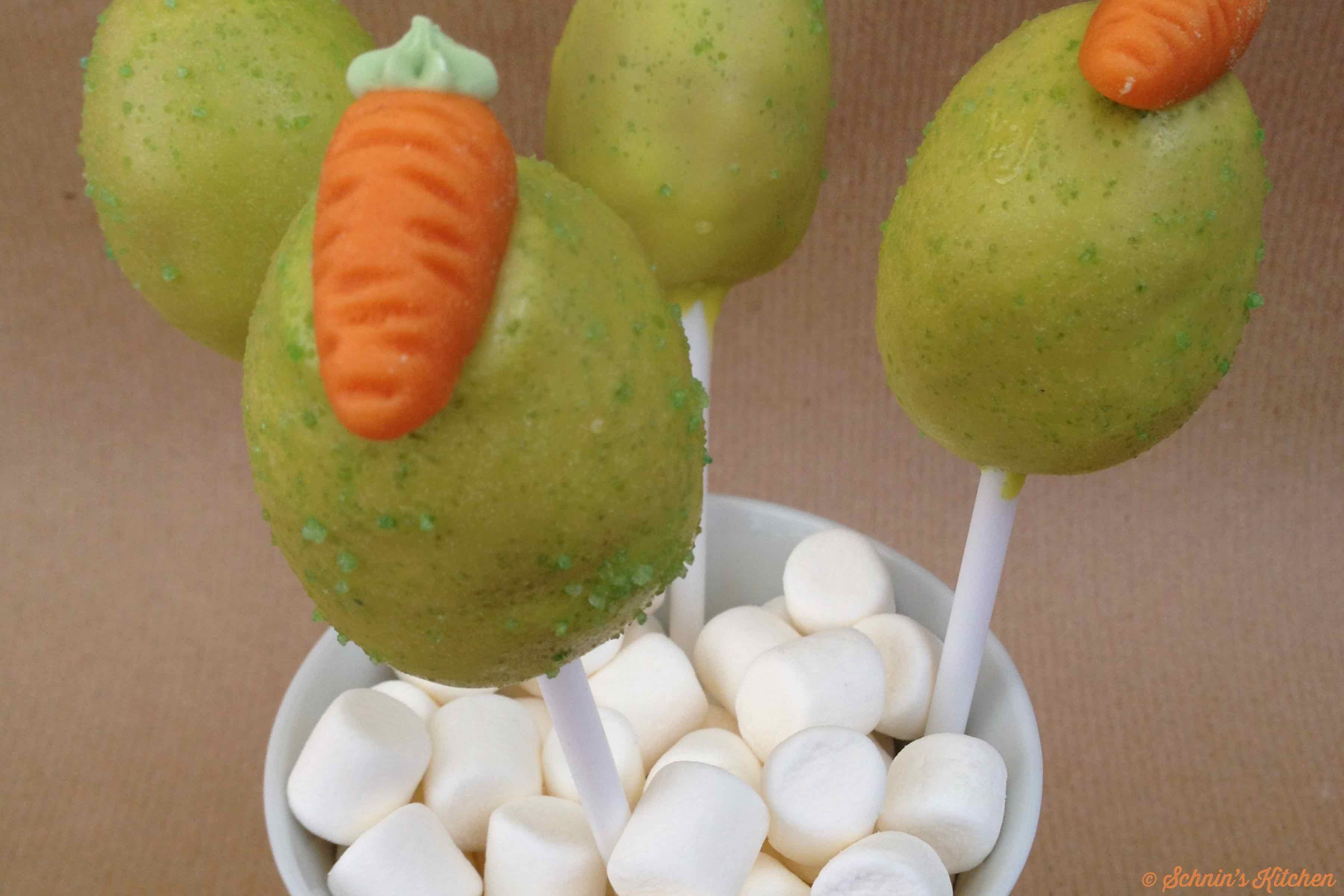 Schnin's Kitchen: Oster-Cake-Pops mit Marmelade