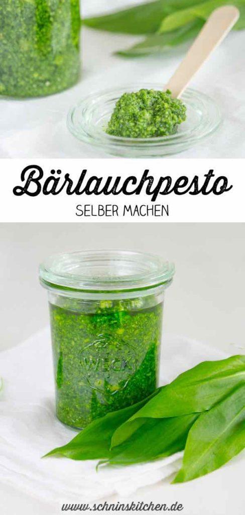 Leckeres Bärlauchpesto selber machen - Rezept | www.schninskitchen.de