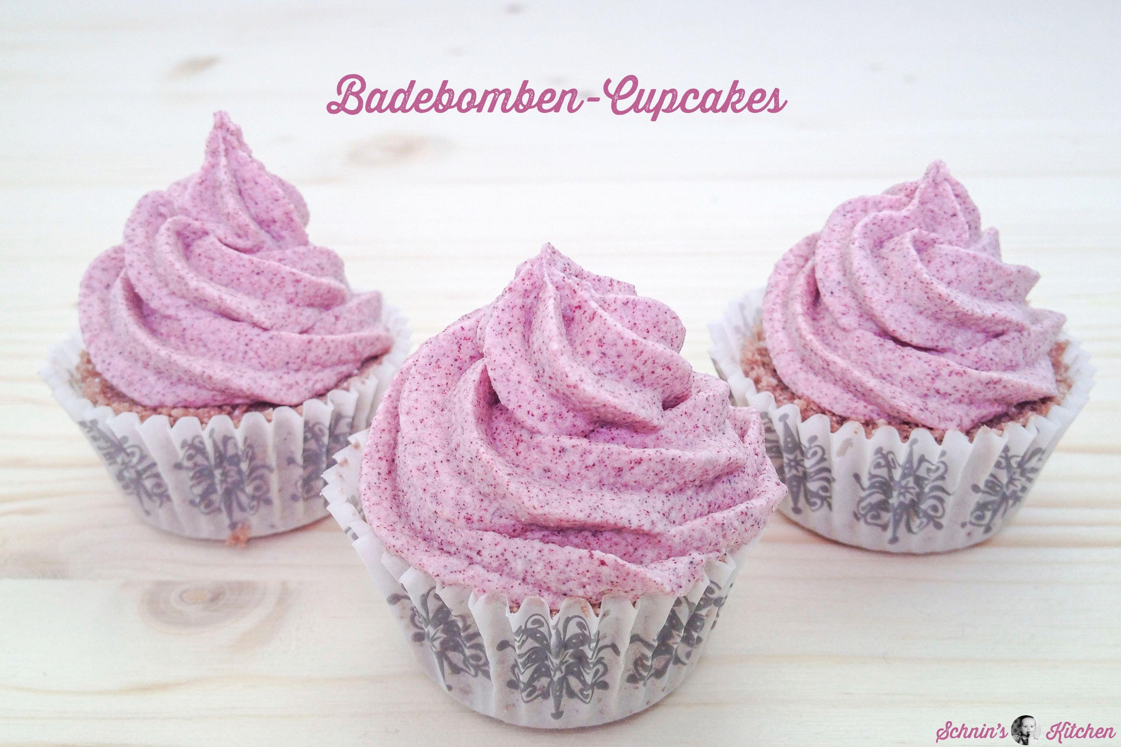 Badebomben Cupcakes Einfach Selber Machen Schnin S Kitchen