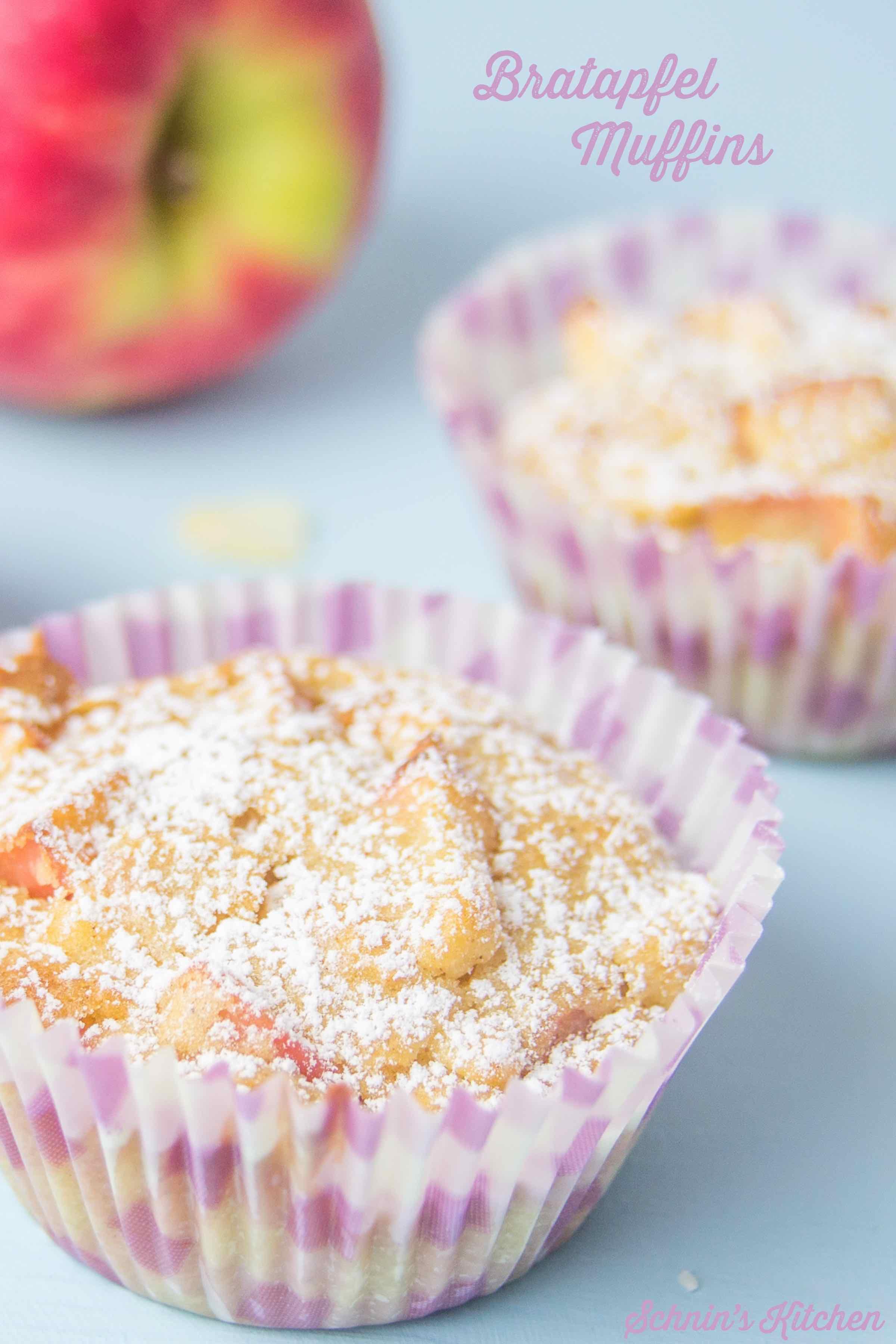 Schnin's Kitchen: Bratapfel-Muffins