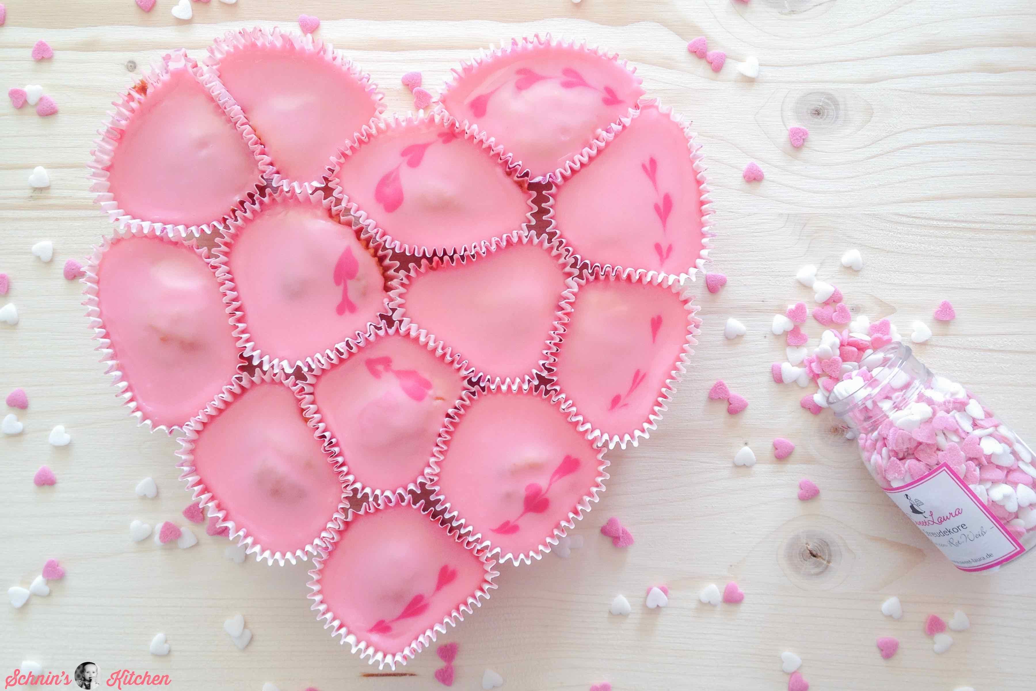 Cupcake-Herz-Kuchen