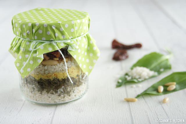 Schnin's Kitchen: Frühling im Paket: Bärlauch-Risotto-Mix
