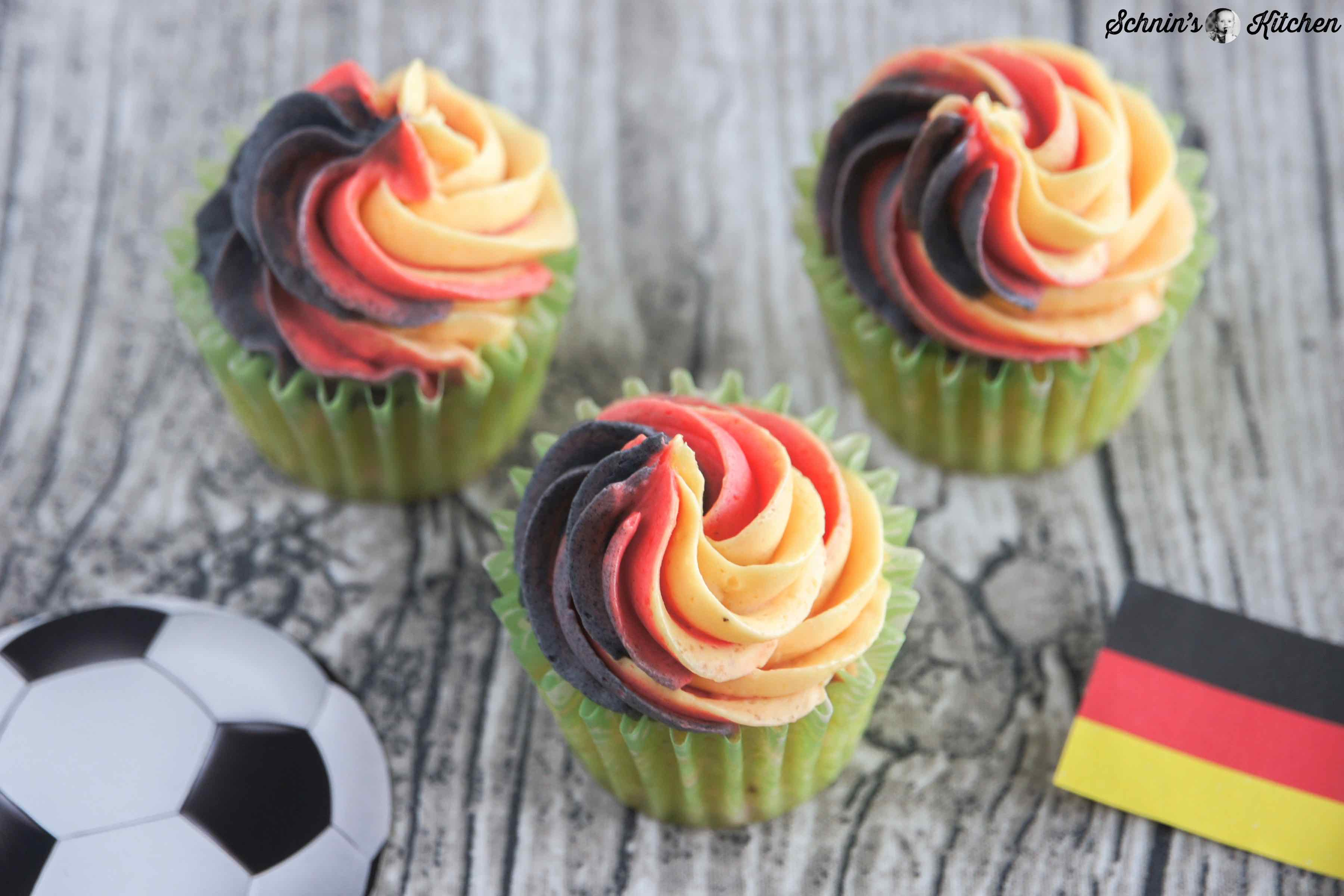 Deutschland-Cupcakes