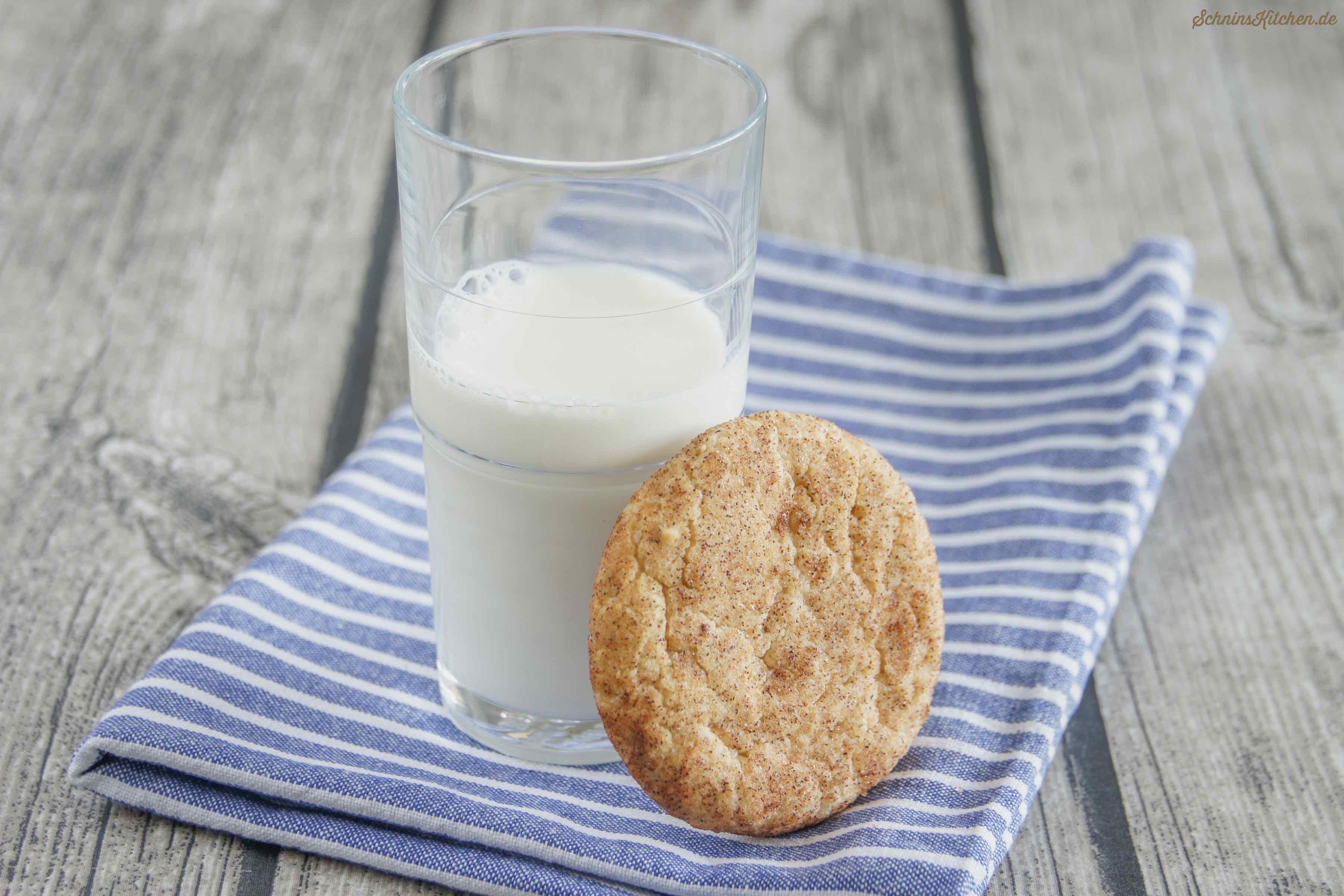Snickerdoodle-Cookies - Amerikanische Snickerdoodles - Leckere Plätzchen mit Zimt und Zucker - www.schninskitchen.de