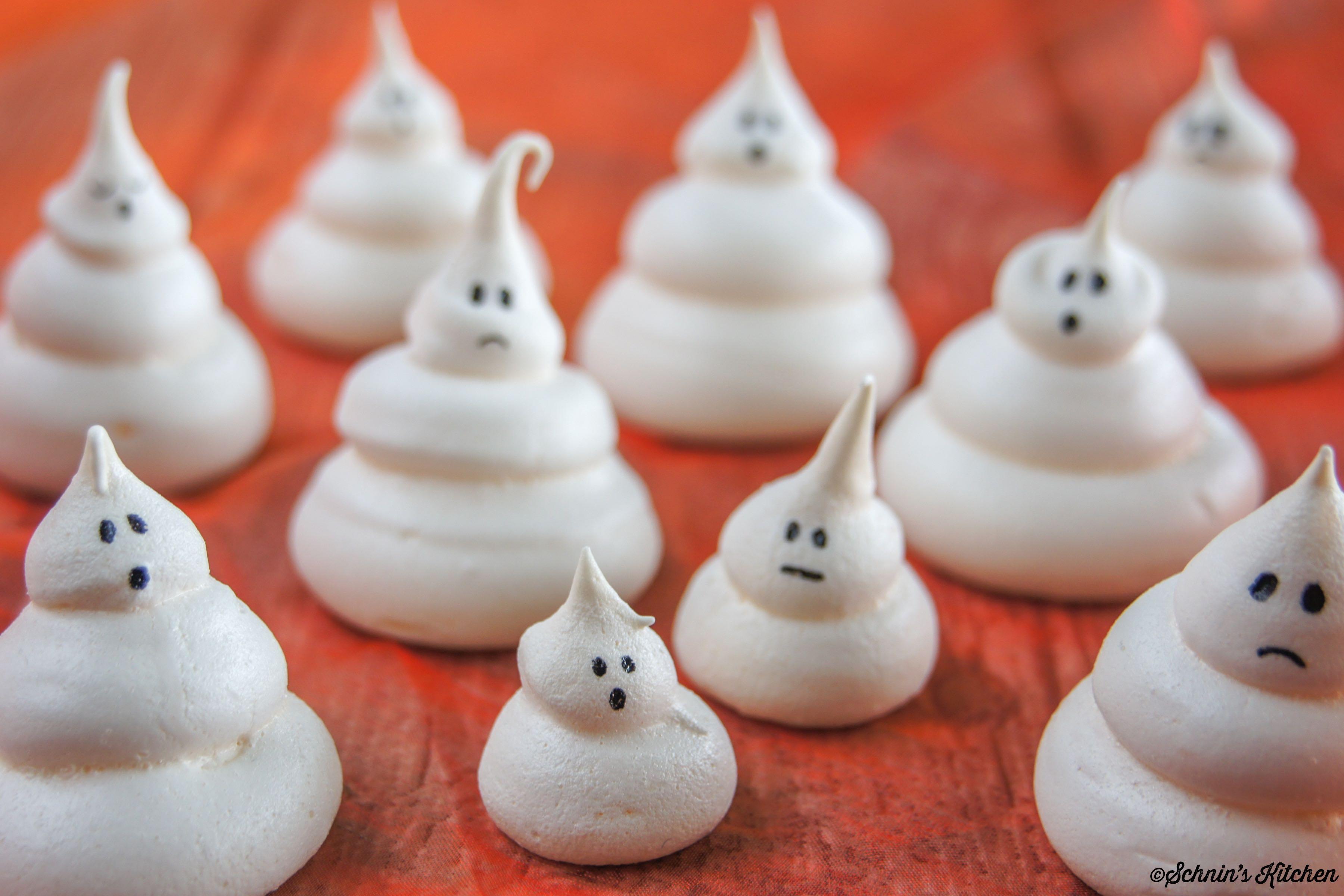 Schnin's Kitchen: Halloween-Baiser-Geister