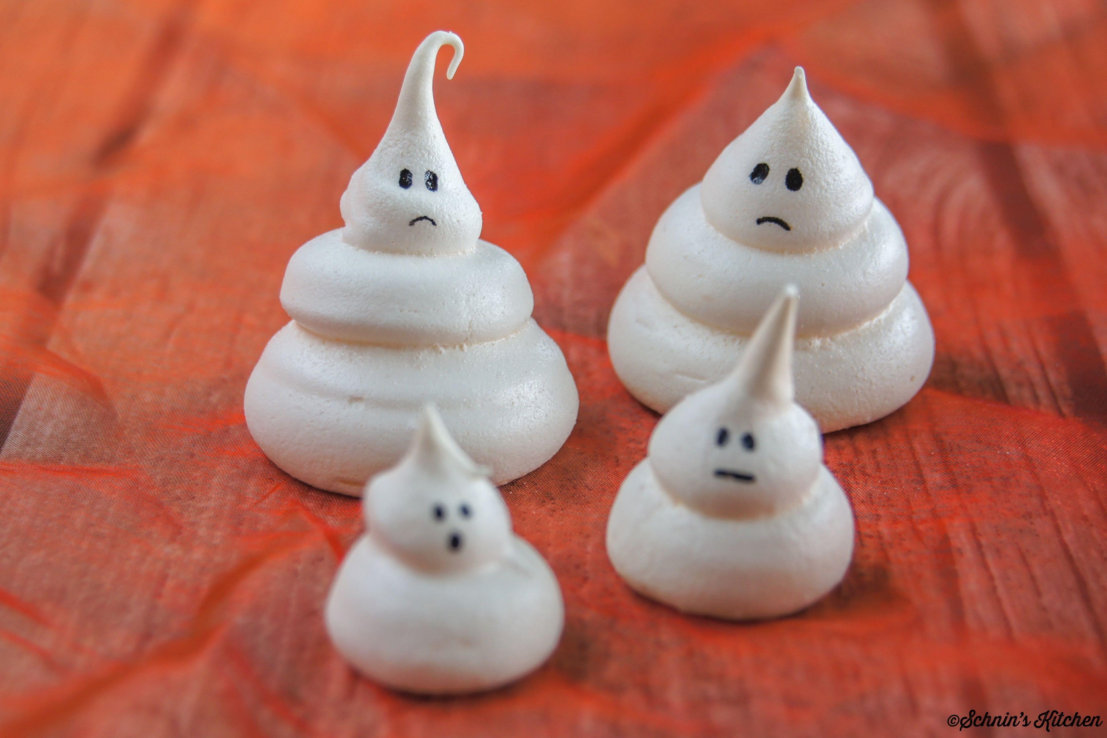 Halloween-Baiser-Geister
