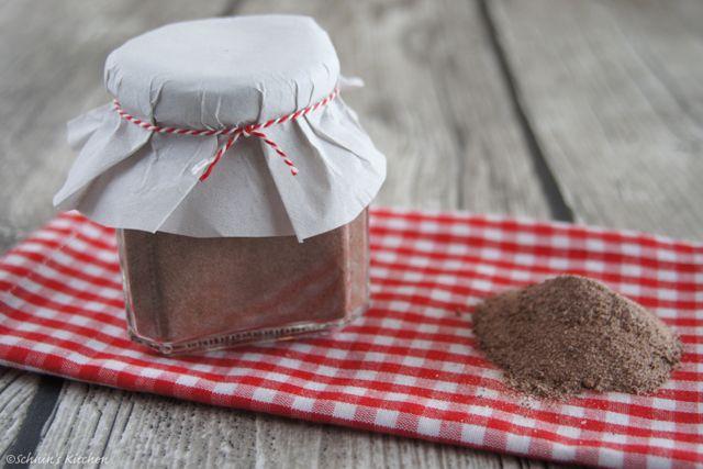 Schnin's Kitchen: Adventswichteln - 2. Weihnachts-Cappuccino-Mischung