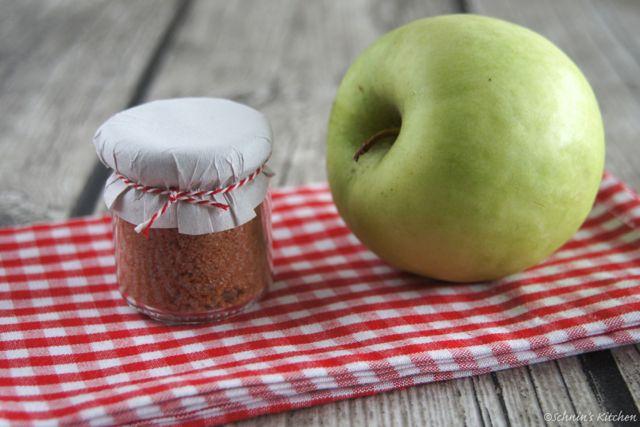 Schnin's Kitchen: Adventswichteln - 3. Apfel-Zimt-Zucker
