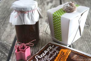 Schnin's Kitchen: Adventswichteln - 1. Lebkuchen-Nutella & Schokoladen-Amarettini