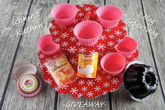 Bloggeburtstag - 2 Jahre Schnin's Kitchen, ein paar ehrliche Worte über's Bloggen & ein kleines Giveaway