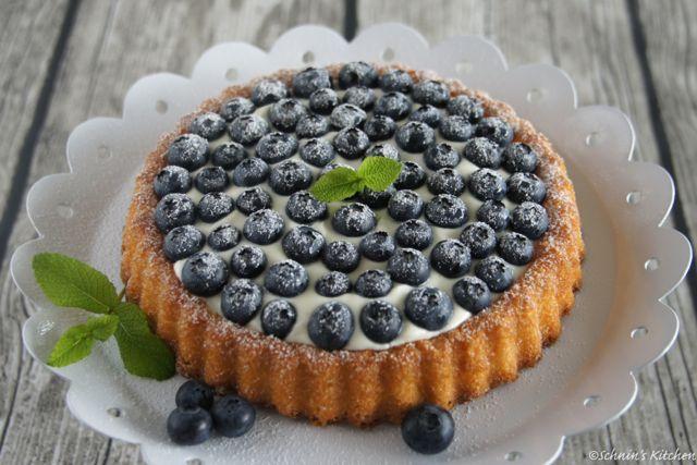 Schnin's Kitchen: Kleine Blaubeer-Tarte