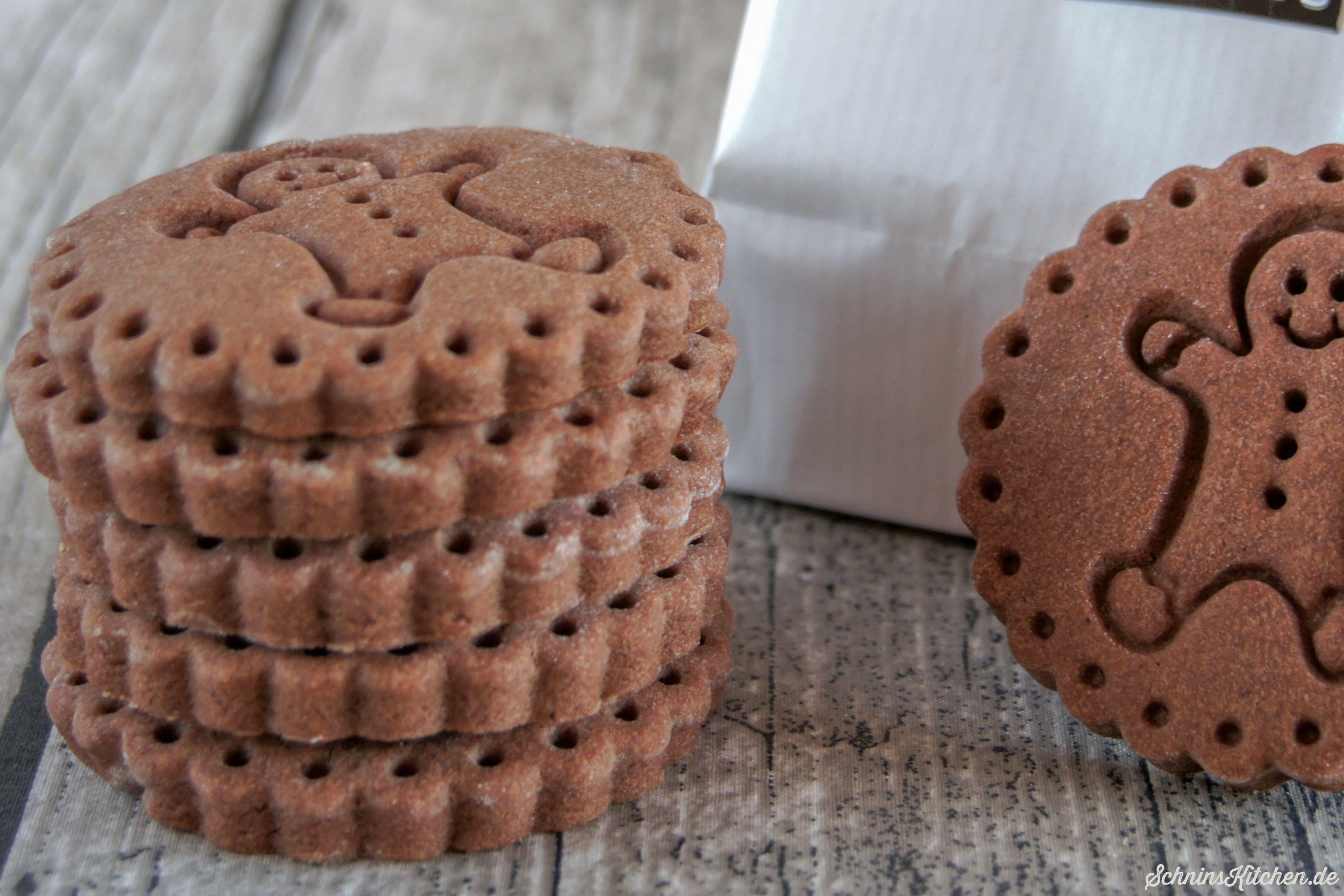 Lebkuchen-Cookies mit Keksstempel Mr. Gingerman - leckere Weihnachtsplätzchen - www.schninskitchen.de