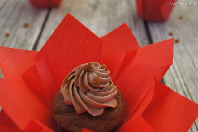 Schnin's Kitchen: Lebkuchen-Cupcakes