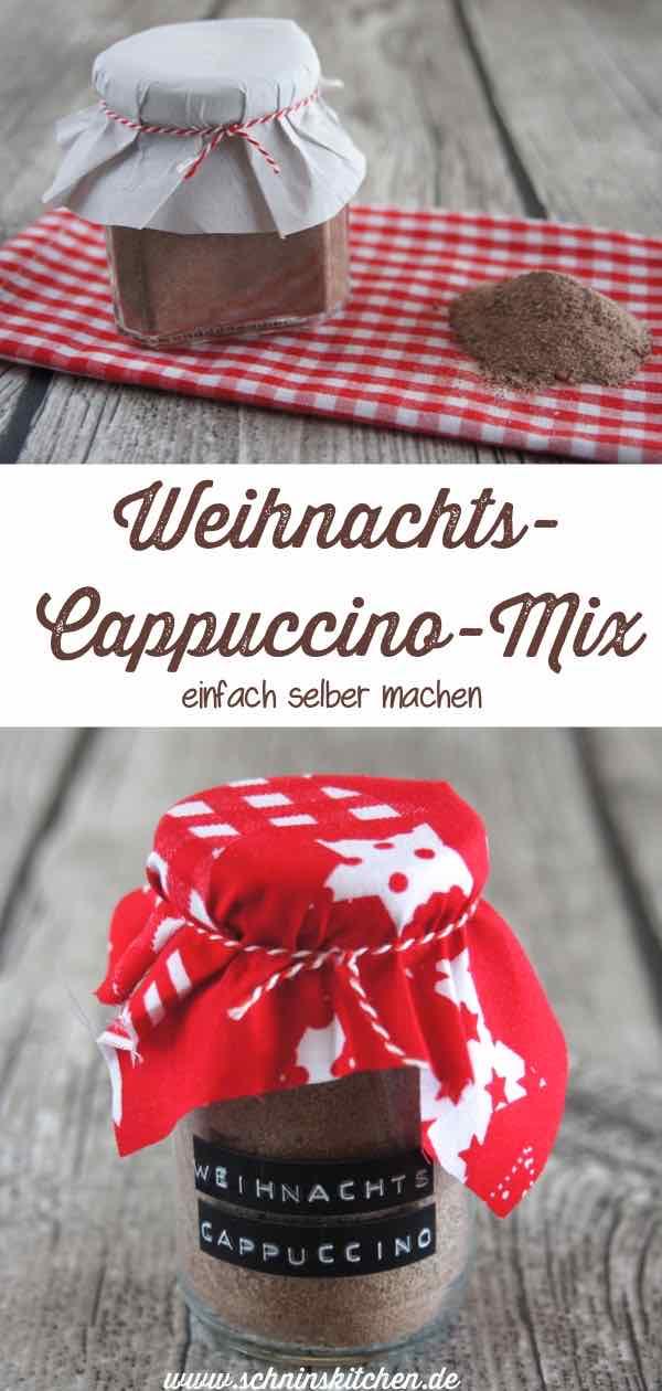 Weihnachts-Cappuccino-Mix selber machen - eine Mischung für leckeren weihnachtlichen Cappuccino als Geschenk aus der Küche | www.schninskitchen.de