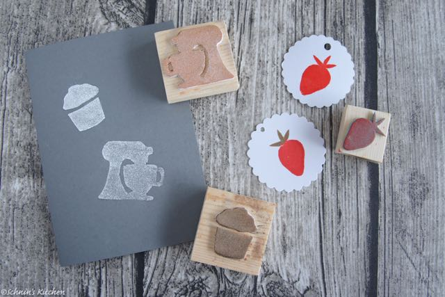 Schnin's Kitchen: Binedoro DIY Stempel Workshop
