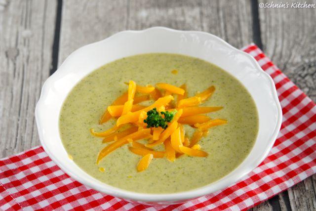 Schnin's Kitchen: Cremige Brokkoli-Cheddar-Suppe