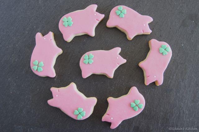 Schnin's Kitchen: Glücksschwein-Kekse