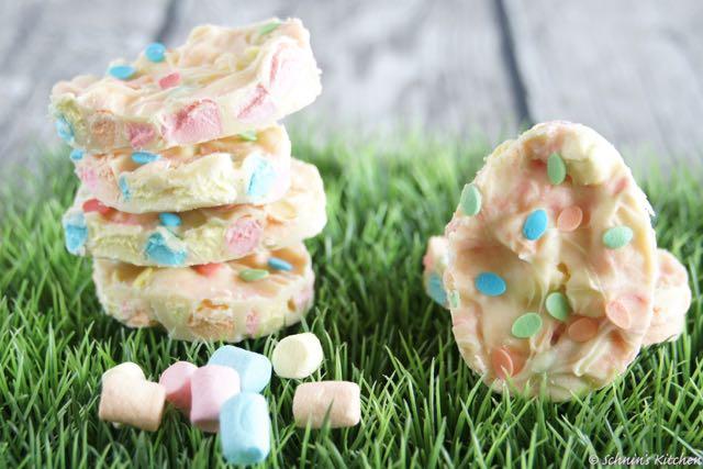 Schnin's Kitchen: Marshmallow-Oster-Schokolade