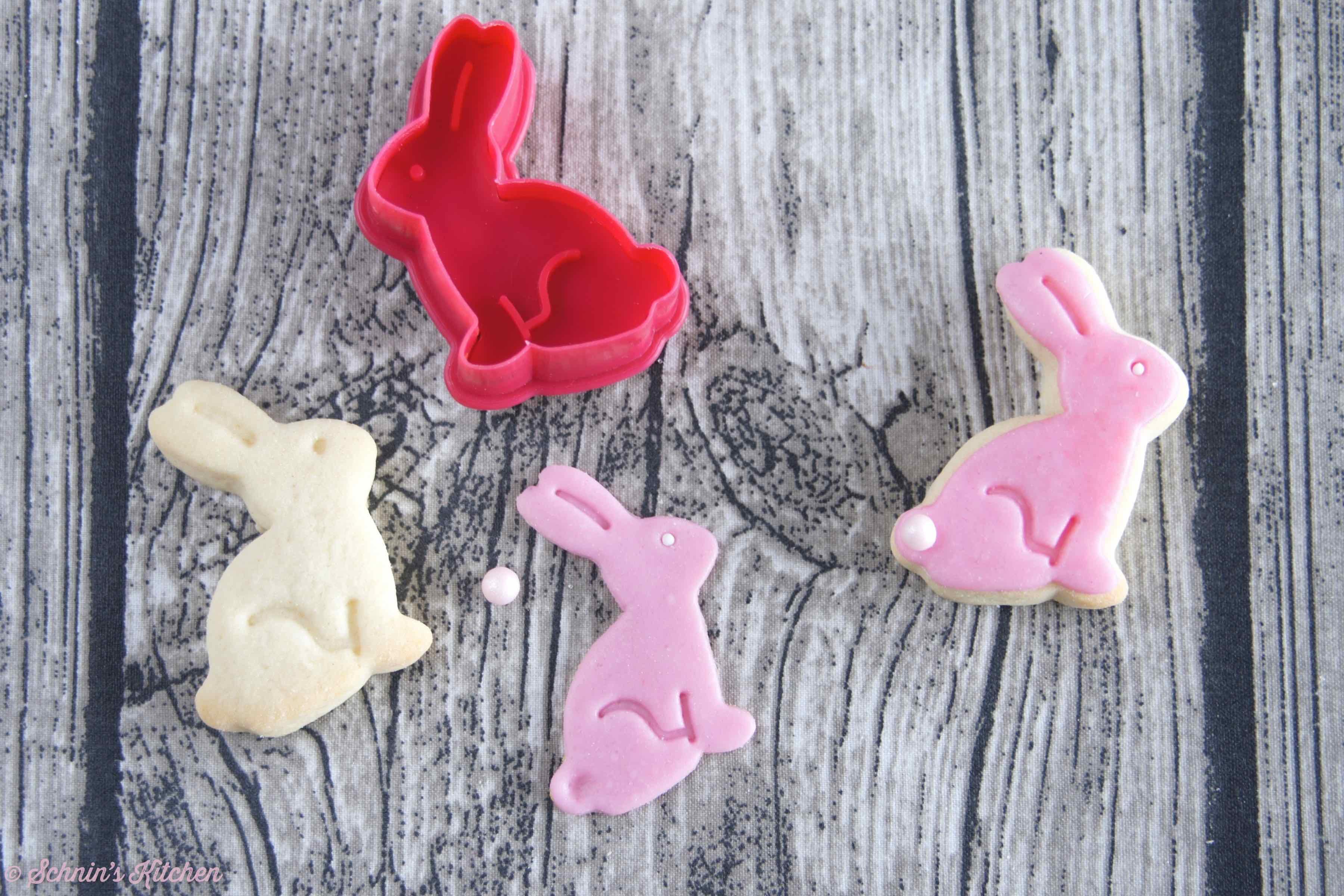 Schnin's Kitchen: Osterhasen-Kekse mit Fondant