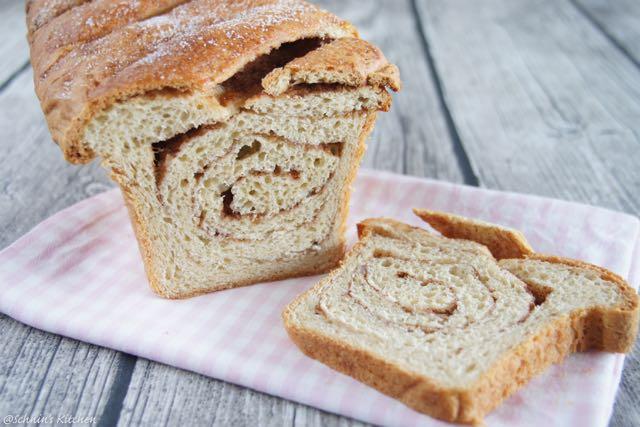 Schnin's Kitchen: Zimt-Toastbrot - Cinnamon Swirl Toast