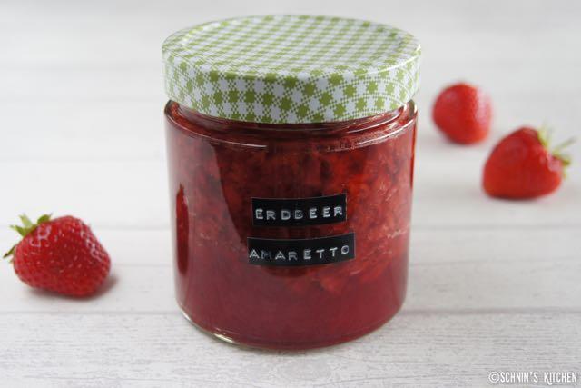 Schnin's Kitchen: Erdbeer-Amaretto-Marmelade