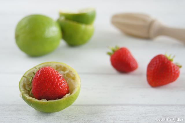 Schnin's Kitchen: Erdbeer-Limetten-Marmelade