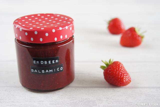 Schnin's Kitchen: Erdbeer-Balsamico-Marmelade