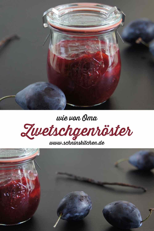 Zwetschgenröster - österreichisches Pflaumenkompott | www.schninskitchen.de