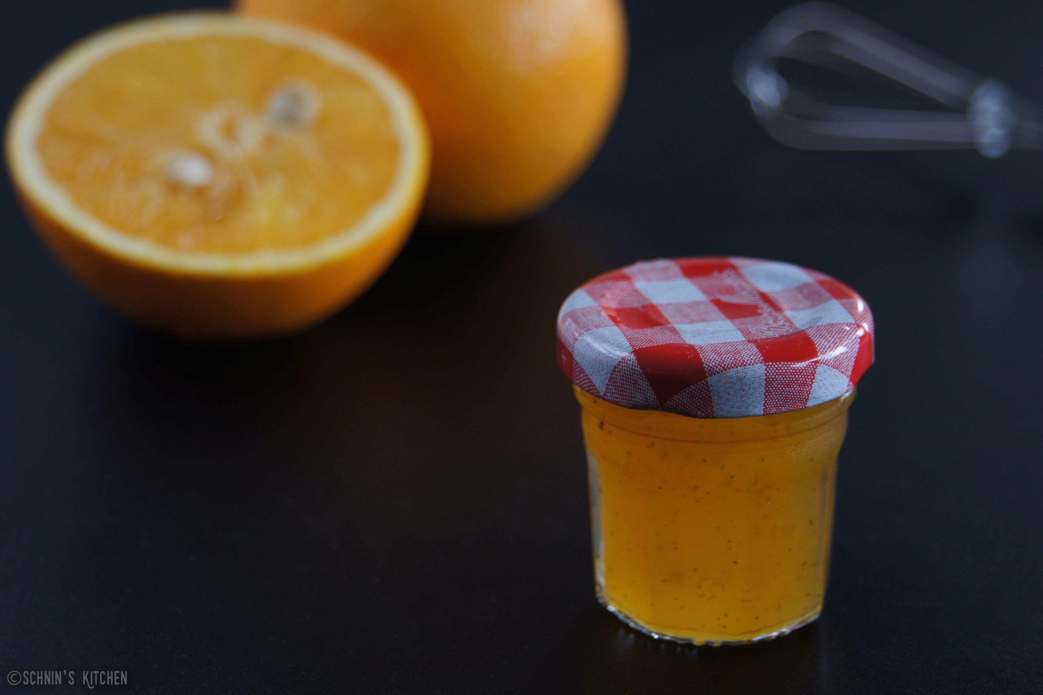 Schnin's Kitchen: Orangen-Vanille-Gelee