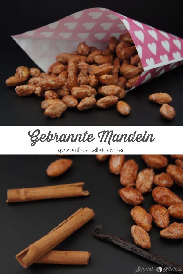 Gebrannte Mandeln wie vom Weihnachtsmarkt einfach selber machen | www.schninskitchen.de