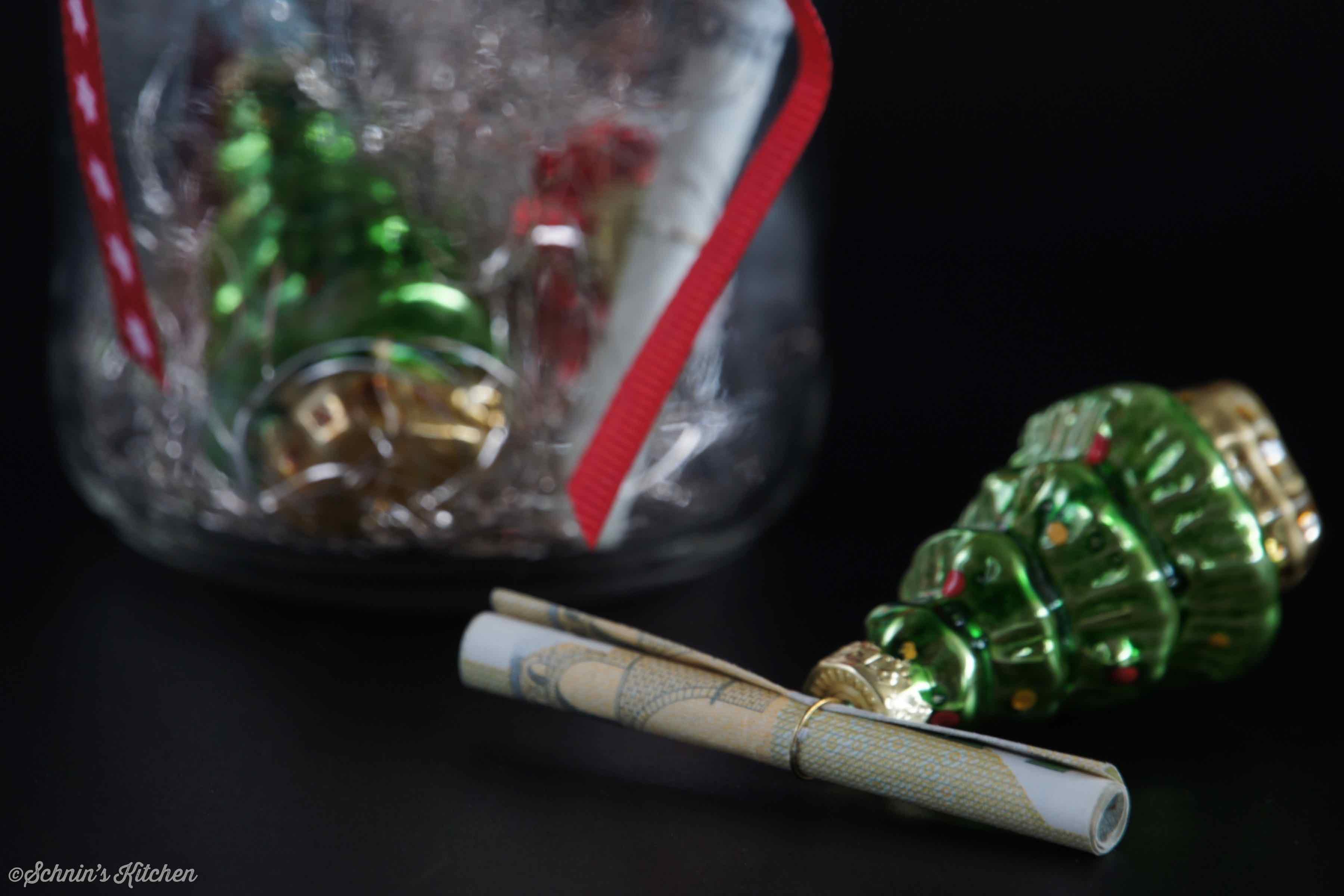 Schnin's Kitchen: weihnachtlich Geldgeschenke verpacken