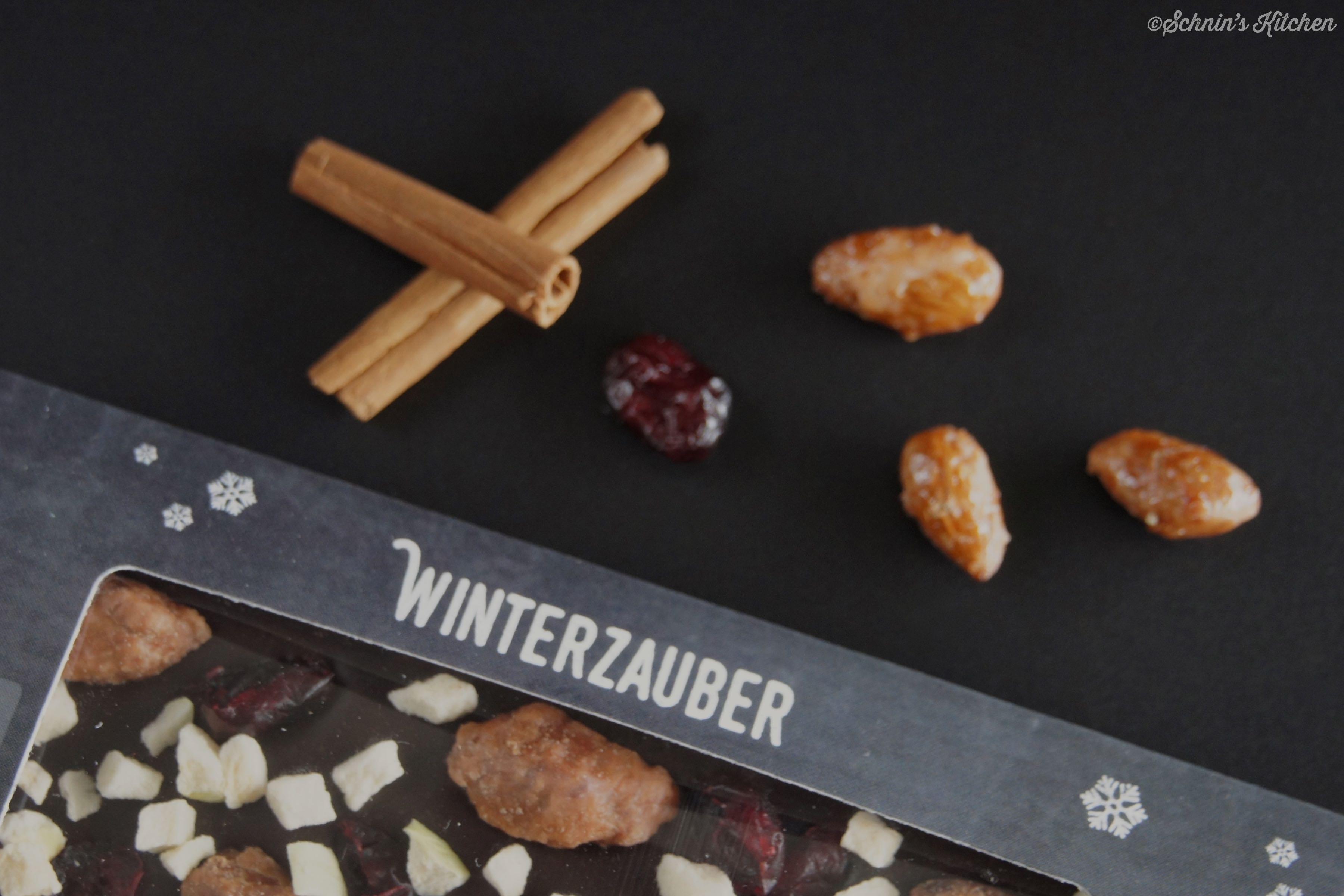 Schnin's Kitchen: Meine Blog-Schokolade - Schnin's Winterzauber
