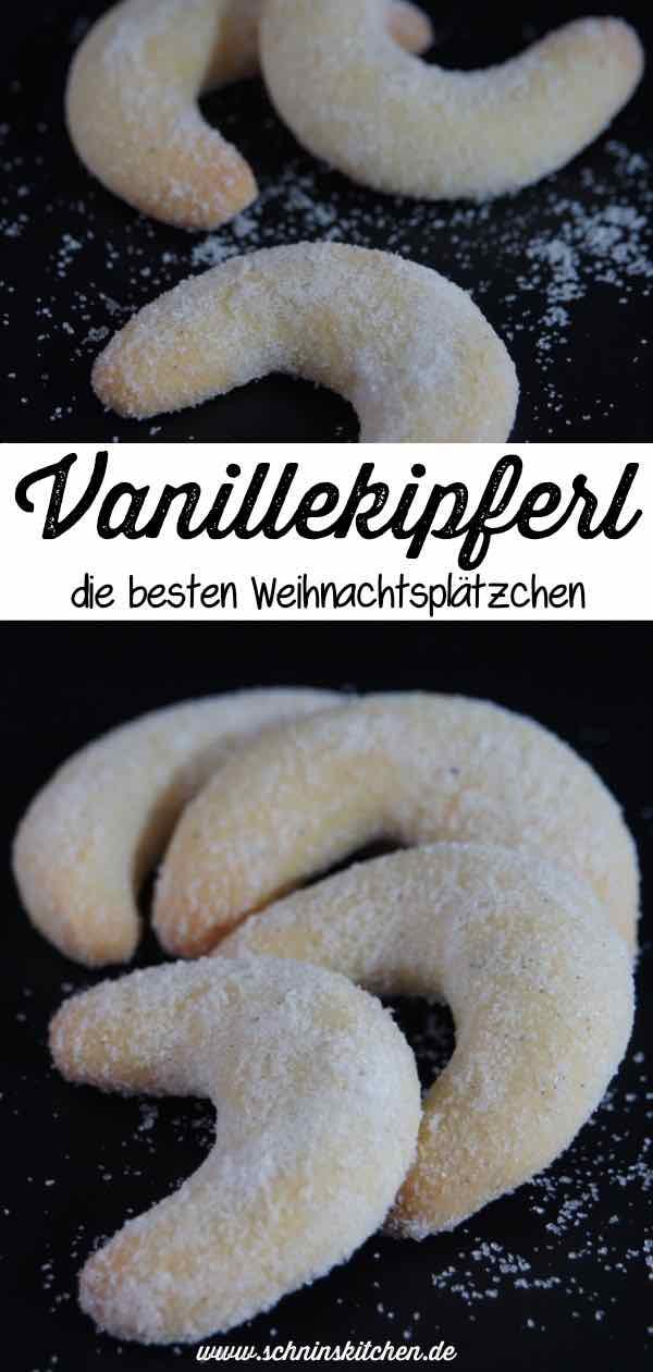 Vanillekipferl - das beste Rezept für die beliebtesten Weihnachtsplätzchen. | www.schninskitchen.de