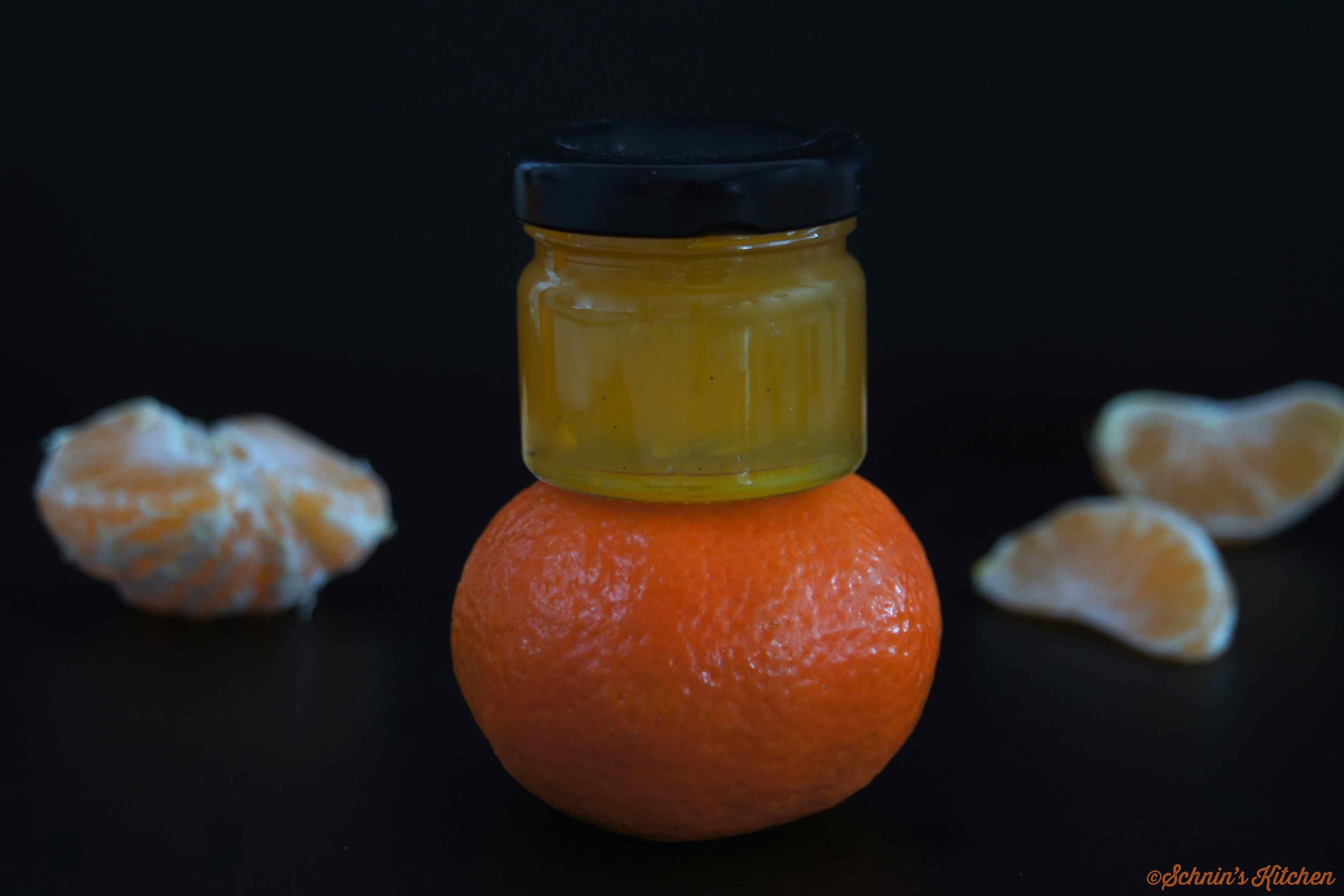 Schnin's Kitchen: Mandarinenmarmelade mit Vanille