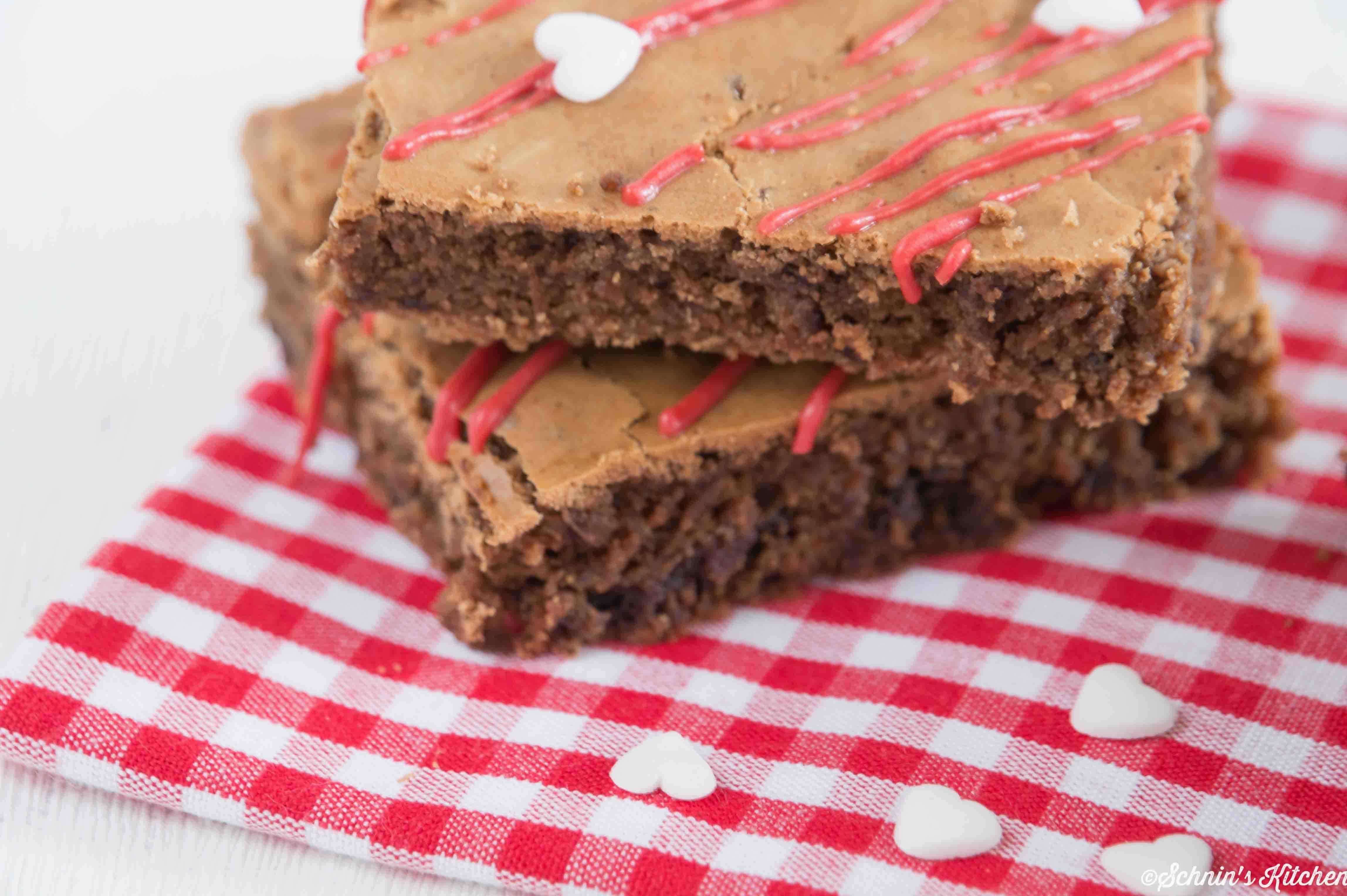 Schnin's Kitchen: Brownies zum Valentinstag