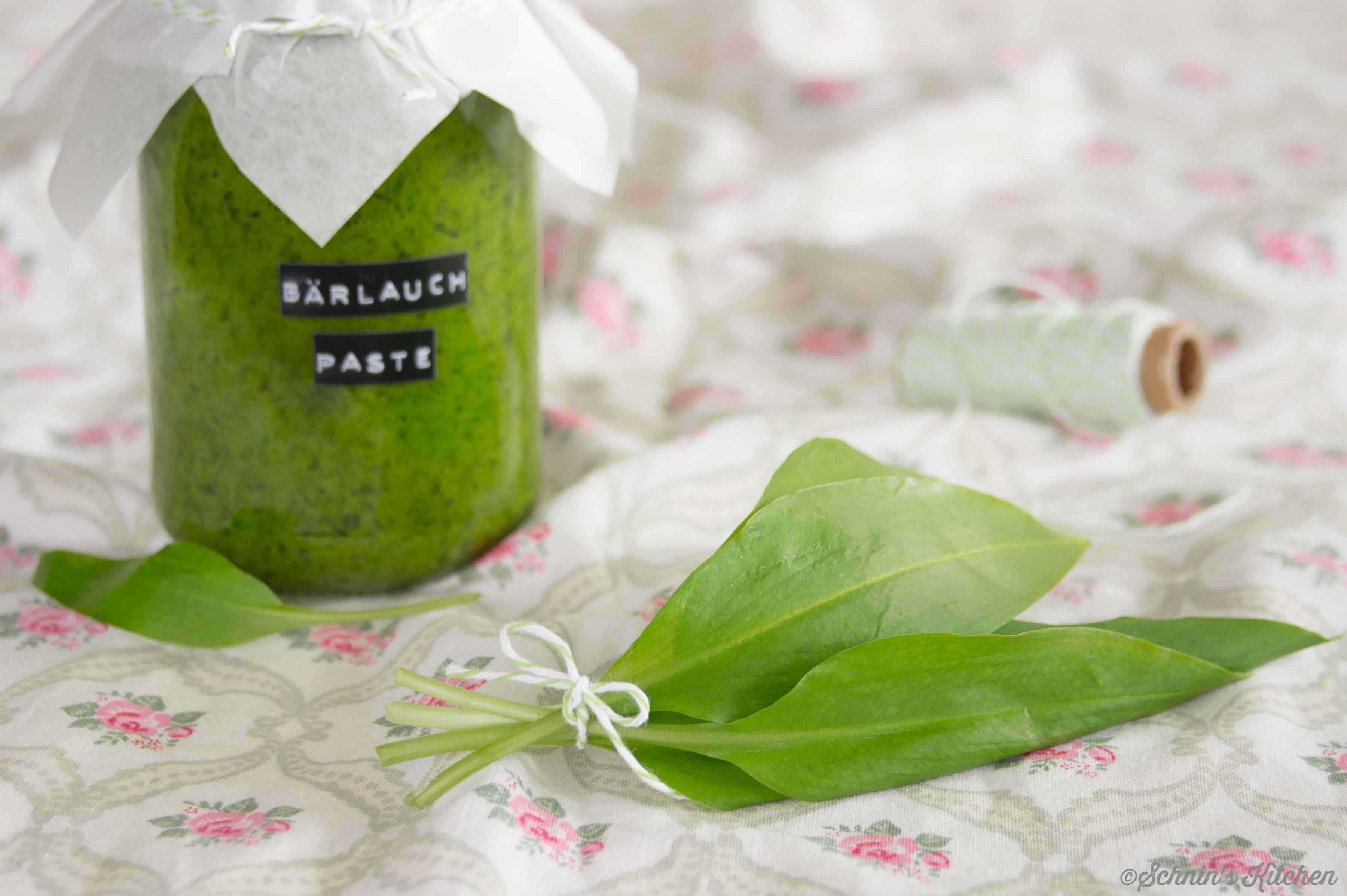 Schnin's Kitchen: Bärlauchpaste
