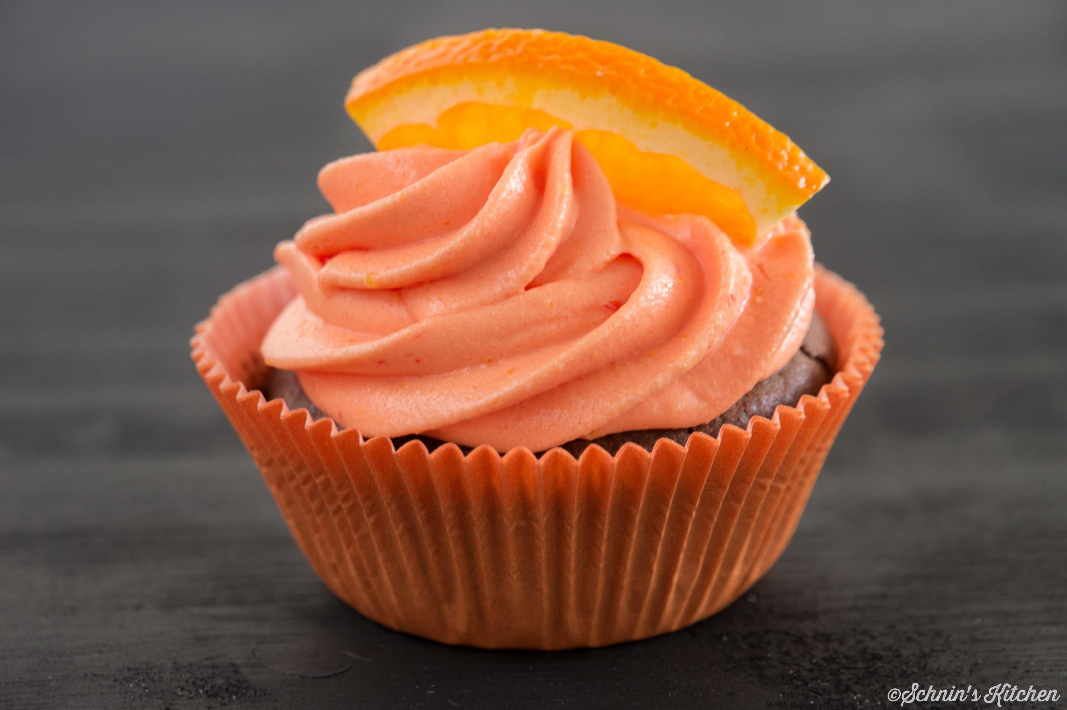 Schnin's Kitchen: Orangen-Cupcakes