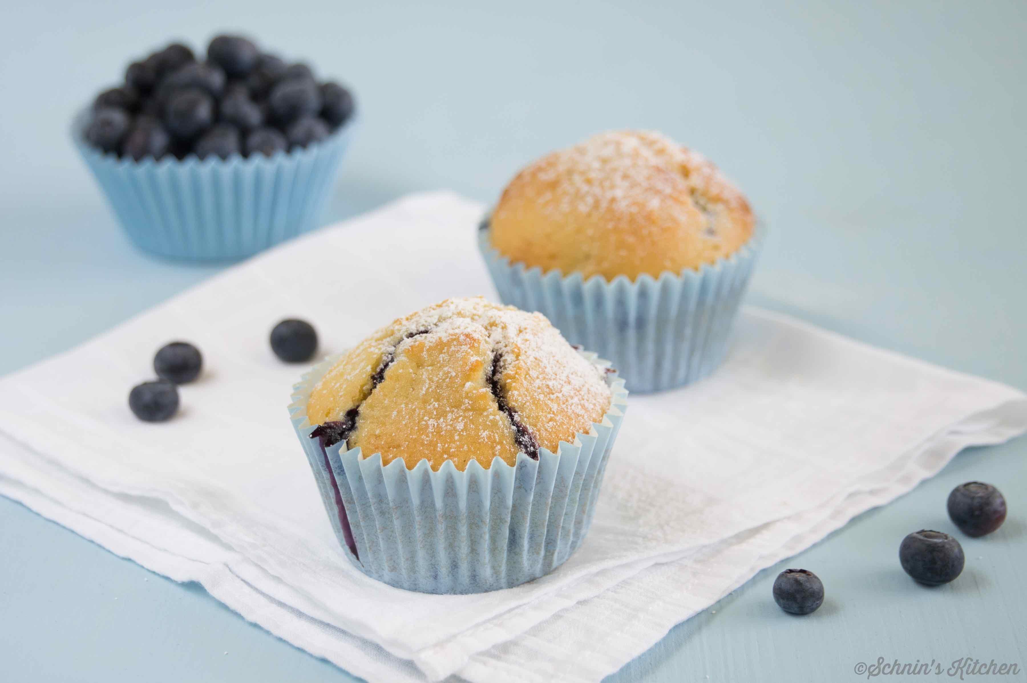 blaubeermuffins große blaubeerliebe schnin s kitchen