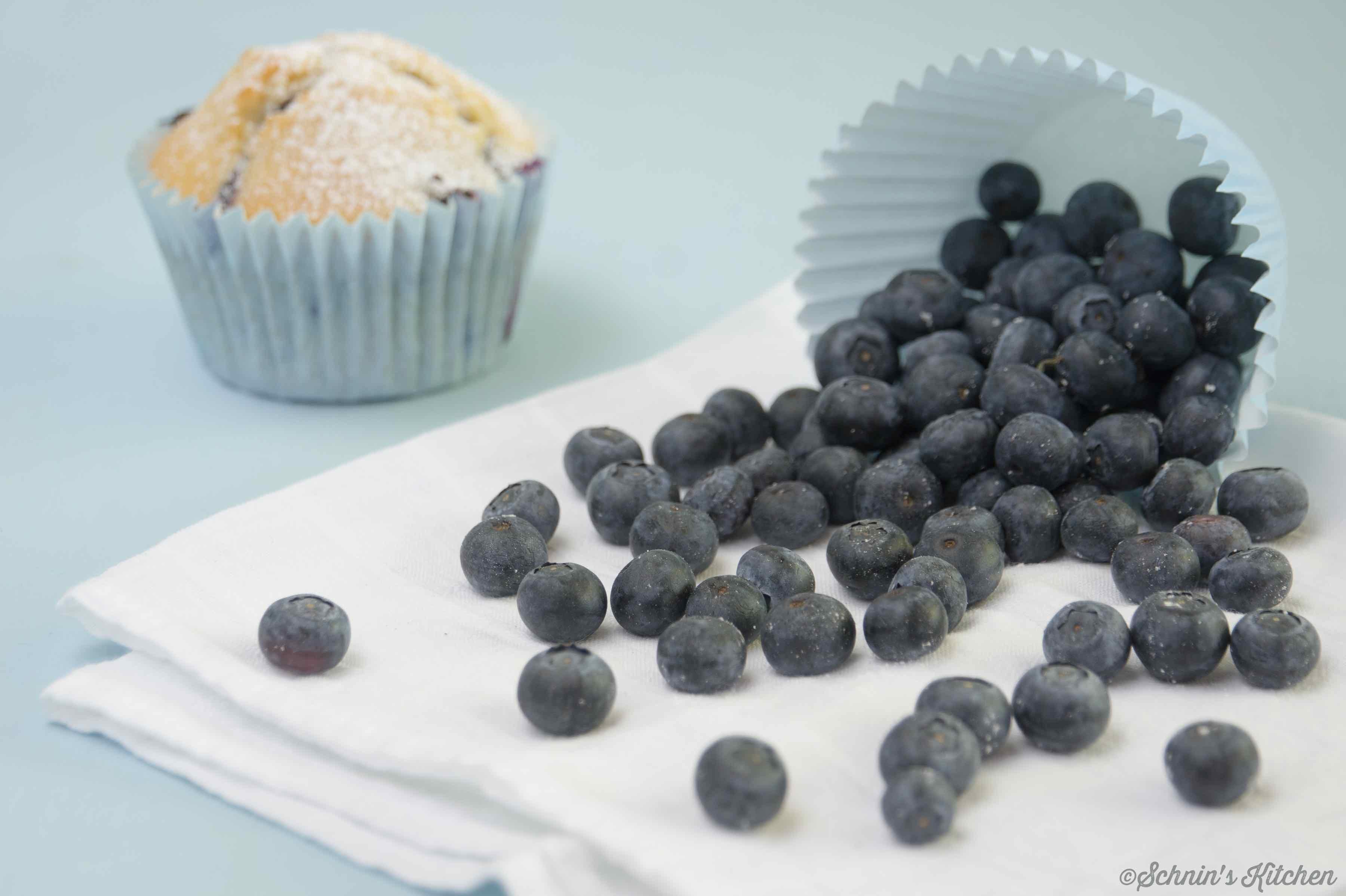 Schnin's Kitchen: Blaubeermuffins