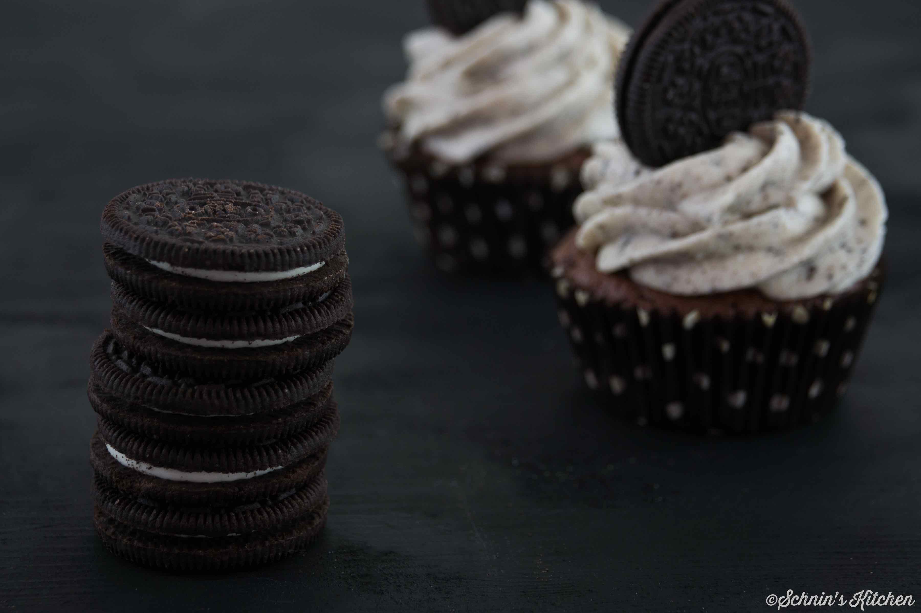 Schnin's Kitchen: Leckere Oreo-Cupcakes