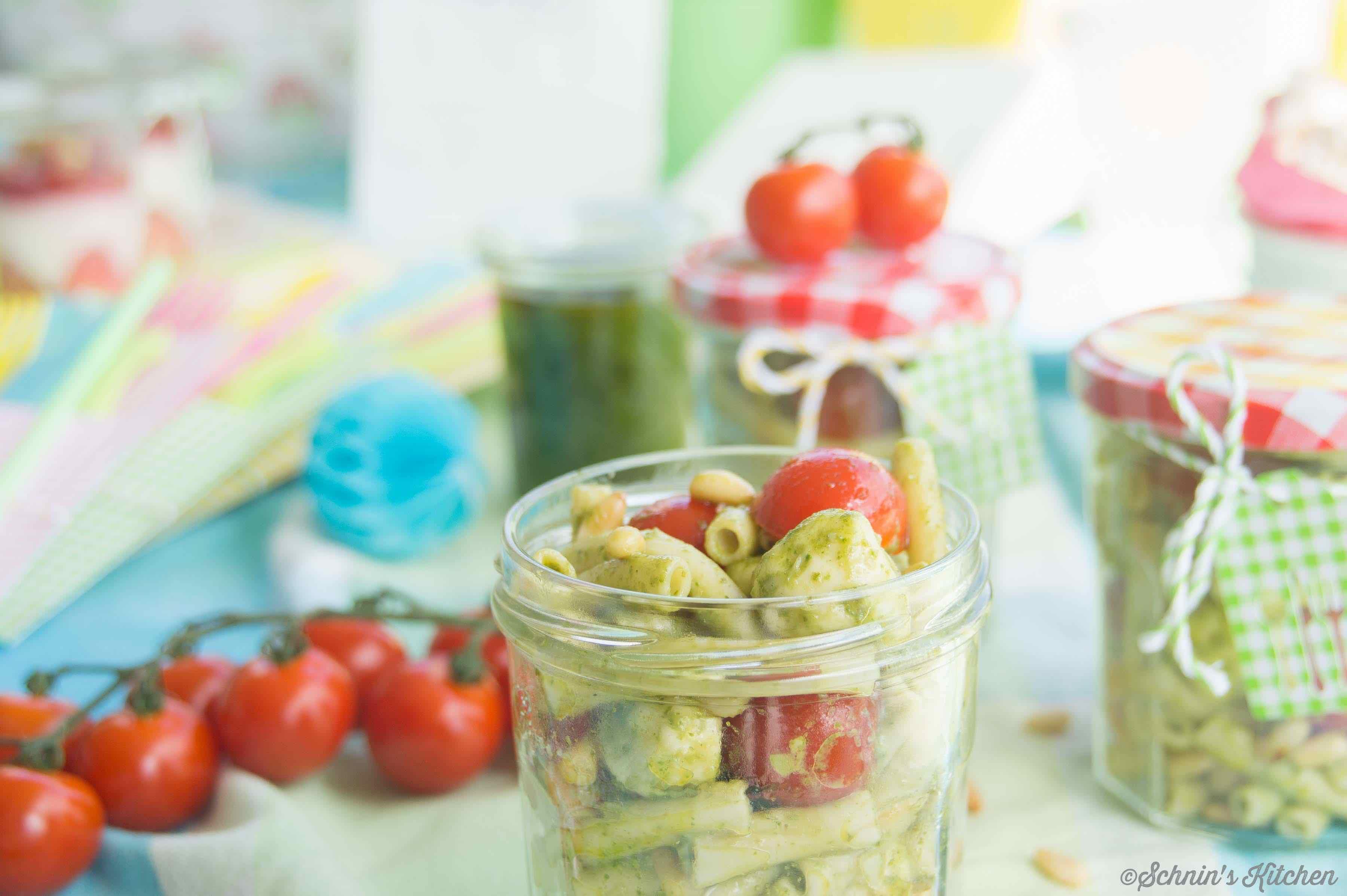 Schnin's Kitchen: Nudelsalat mit Pesto