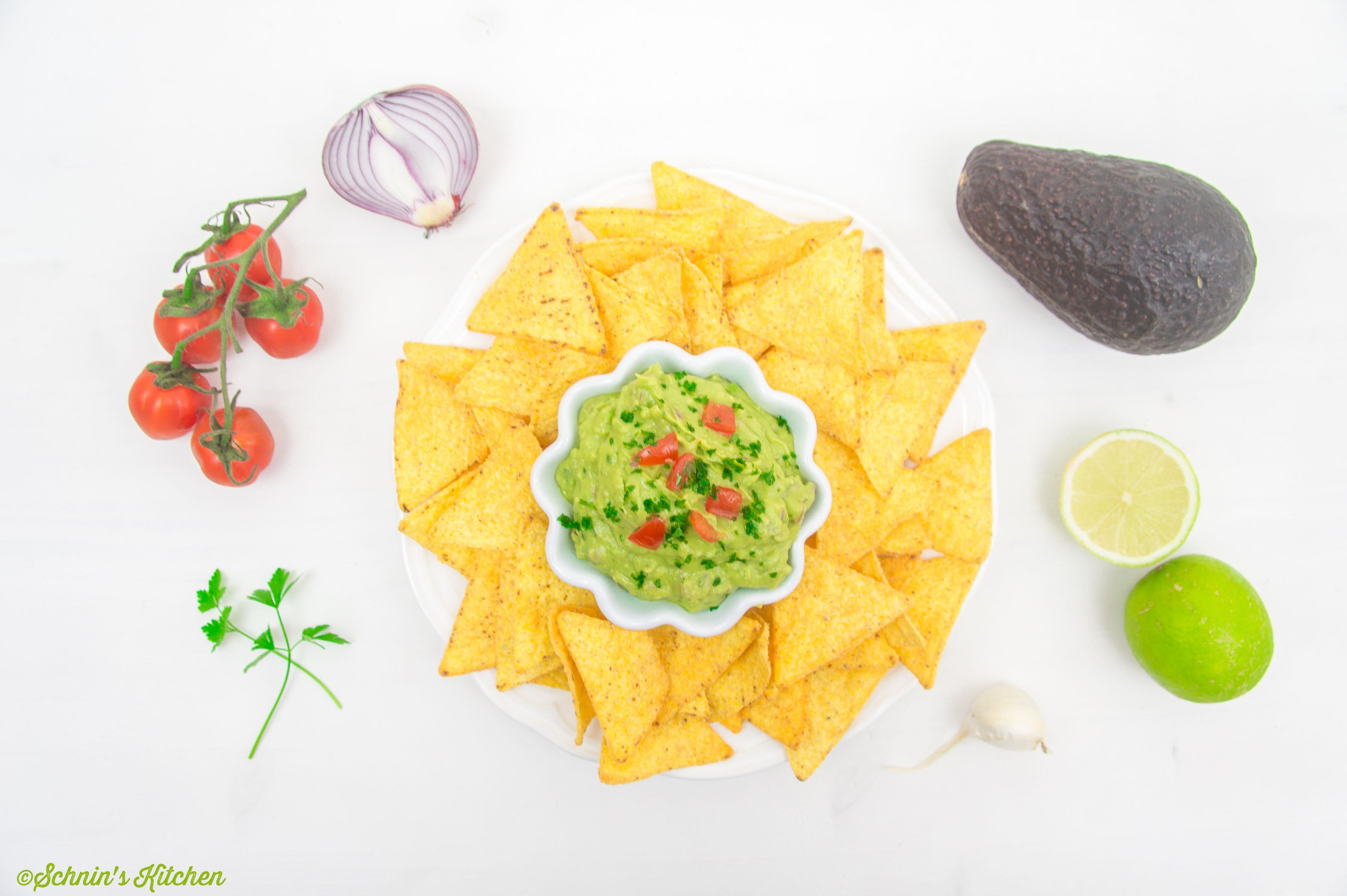 Schnin's Kitchen: Guacamole - mexikanischer Avocado-Dip