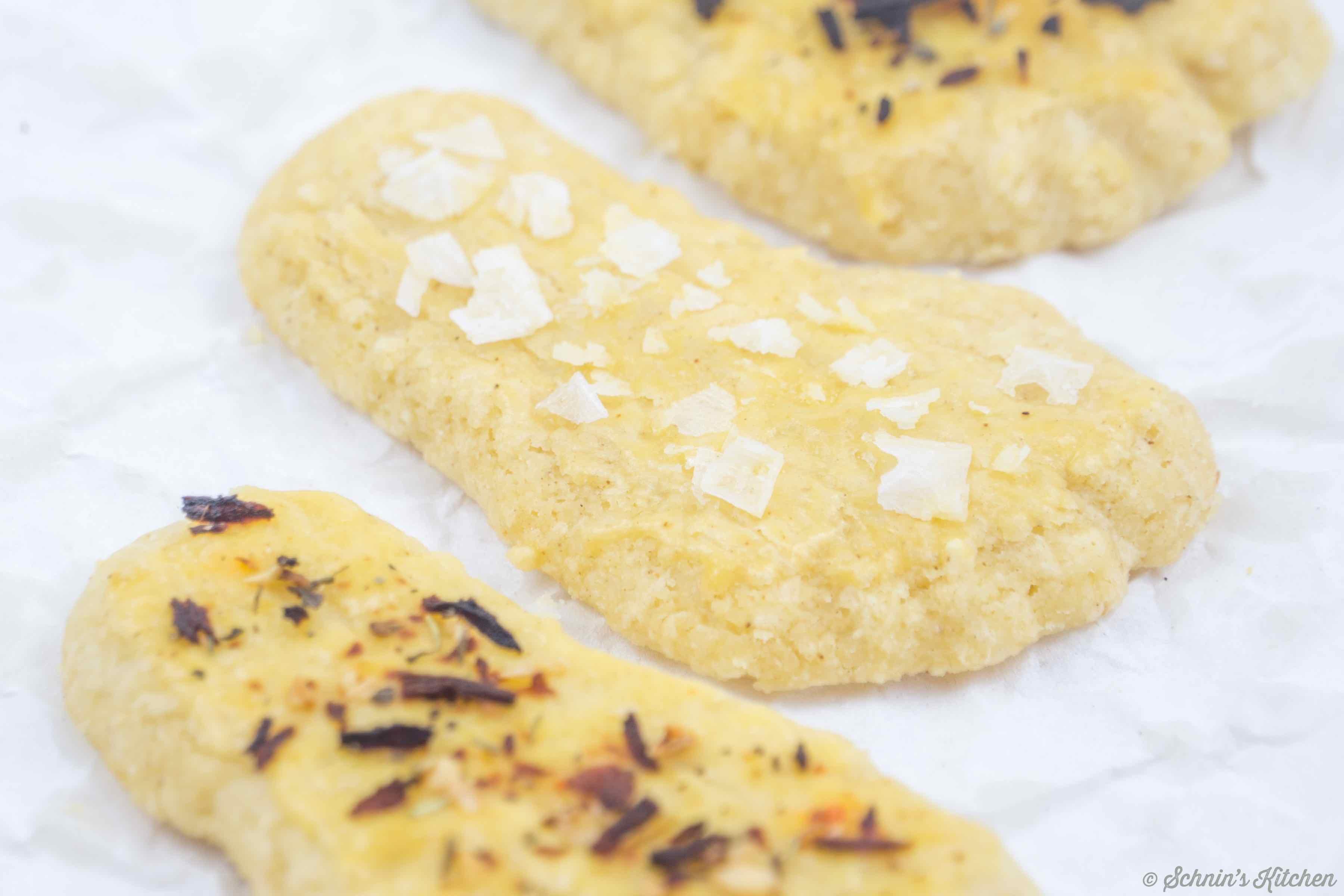 Schnin's Kitchen: Käsecracker - leckere Käsefüße zum Knabbern