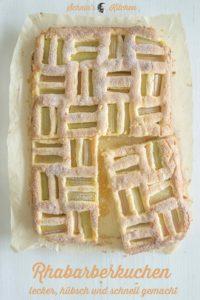 Weltbester Rhabarberkuchen vom Blech | www.schninskitchen.de