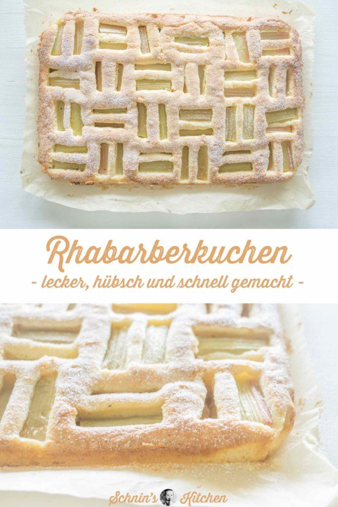 Weltbester Rhabarberkuchen vom Blech - www.schninskitchen.de