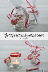 Geldgeschenke verpacken für Weihnachten | www.schninskitchen.de