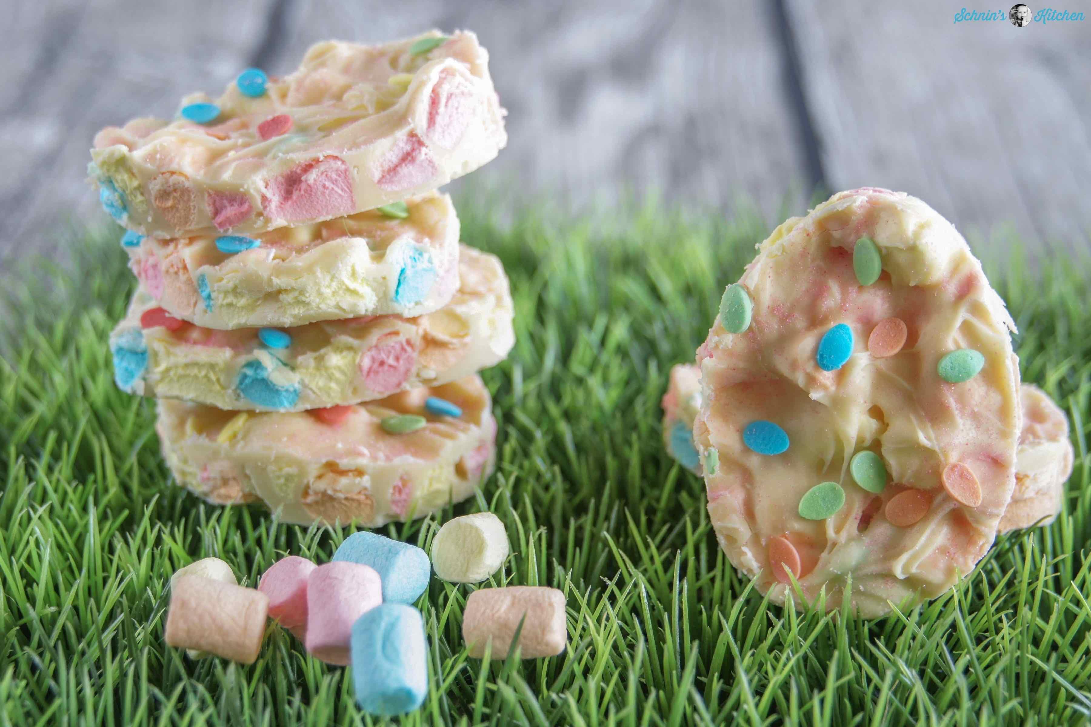 Marshmallow-Osterschokolade selber machen | www.schninskitchen.de