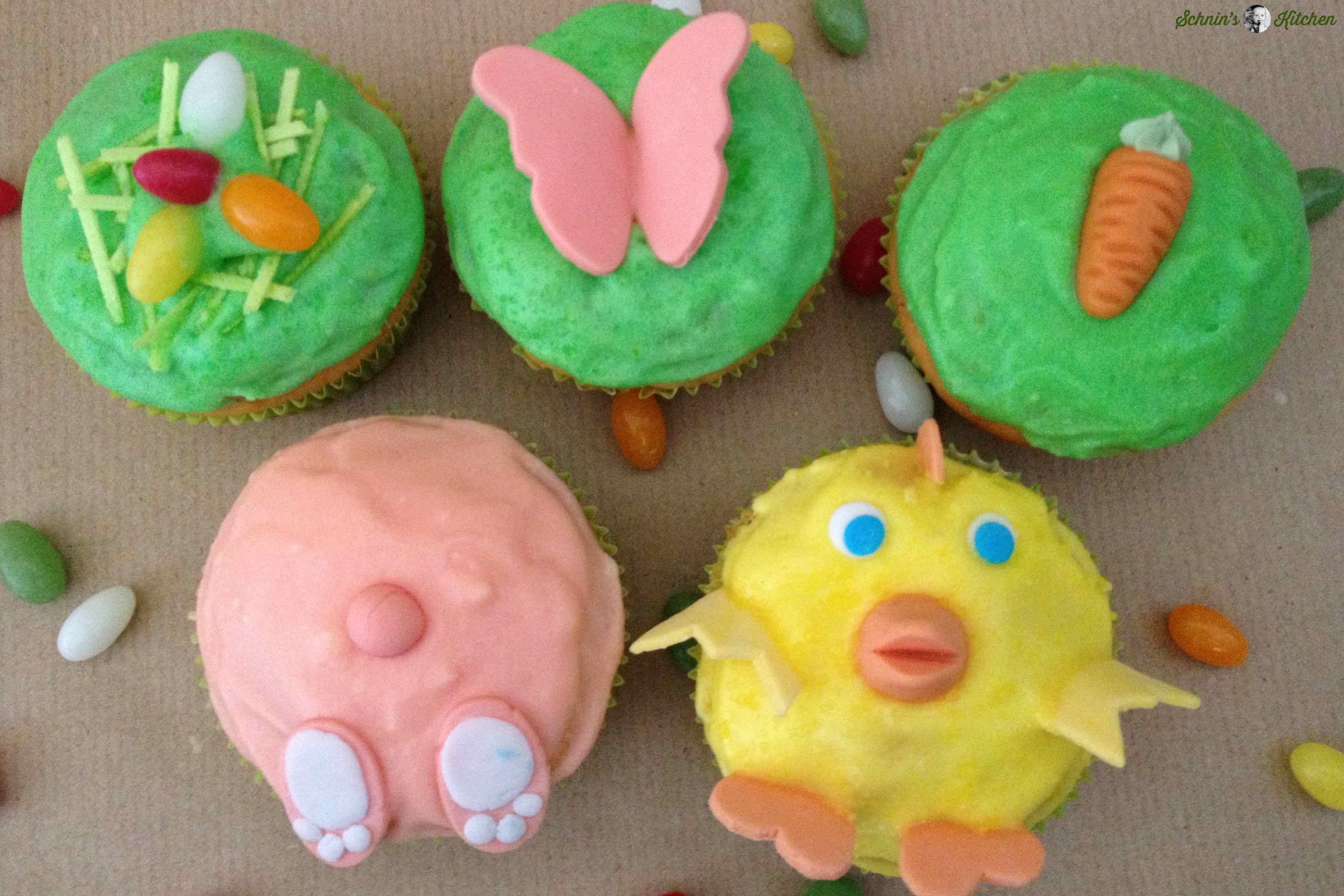 Kunterbunte Ostercupcakes | www.schninskitchen.de