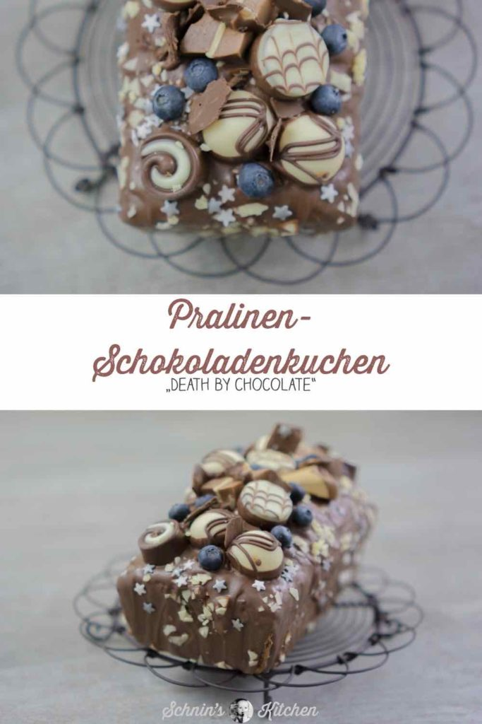 Pralinen-Schokokuchen - Death by chocolate | www.schninskitchen.de