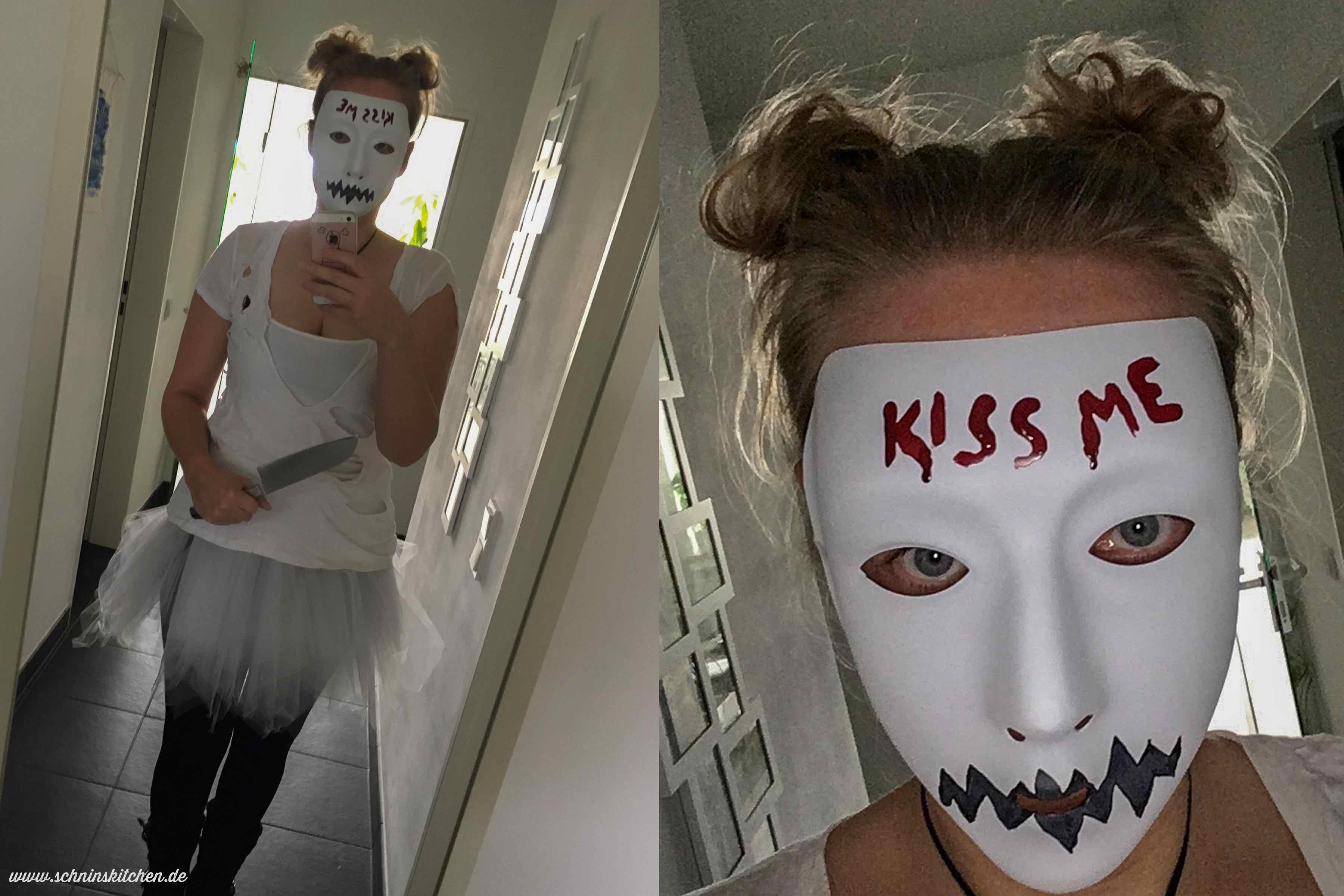 """Halloween-Kostüm Candy Girl aus """"The Purge"""" - Schnins Kitchen"""